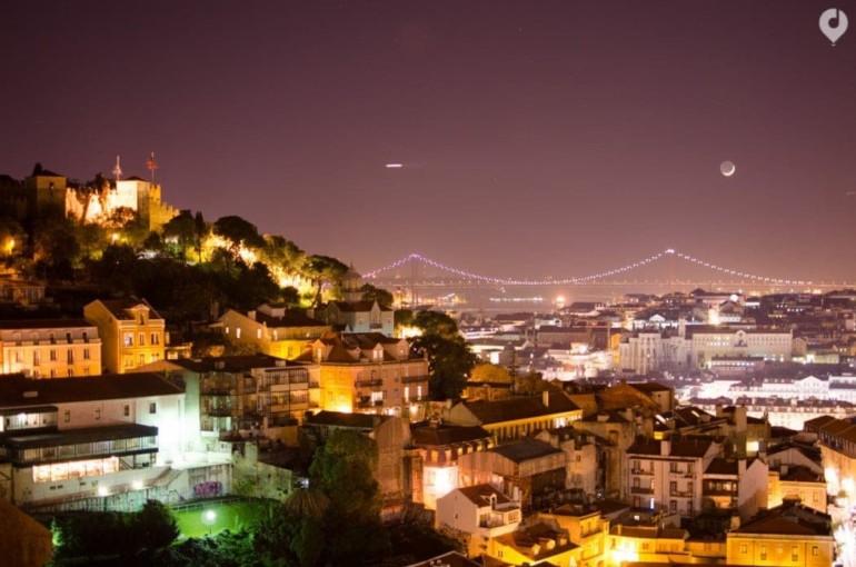 Aussichtspunkt Convento da Graça in Lissabon