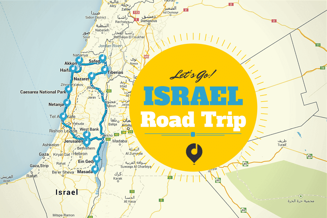 Roadtrip durch Israel