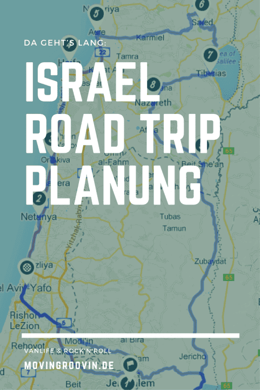 Israel Roadtrip Planung