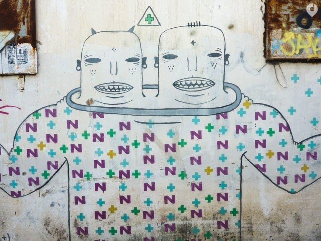 Streetart in Tel Aviv, Israel