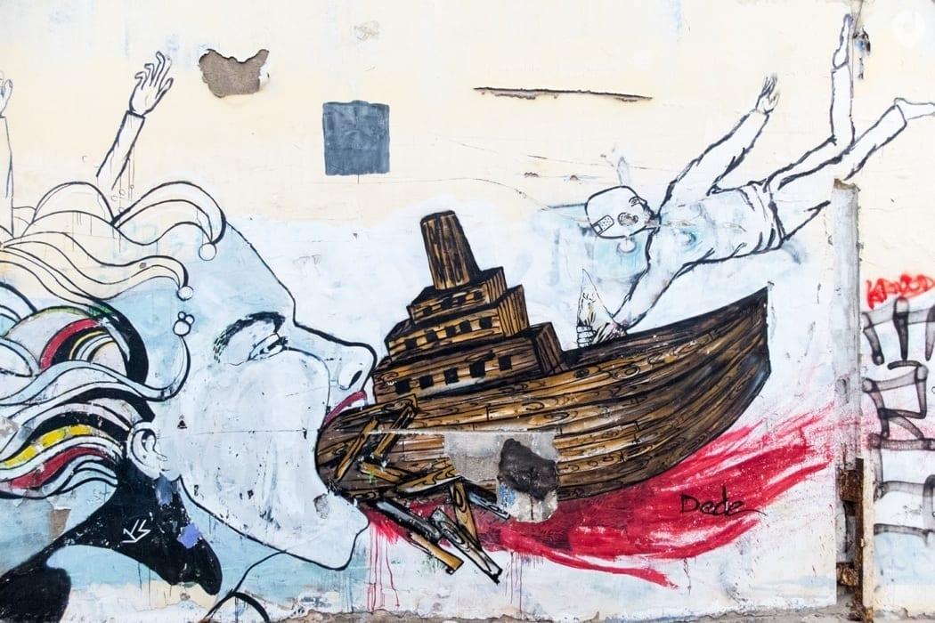 Street Art in Tel Aviv, Israel
