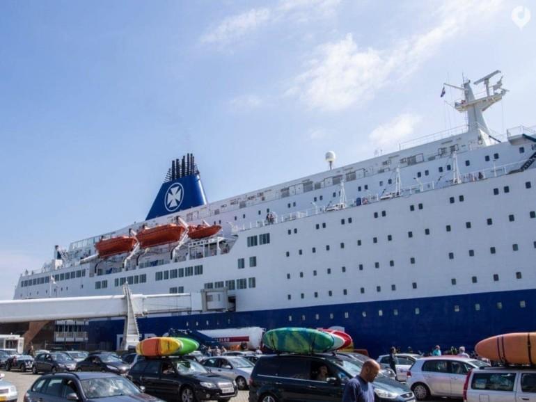 Per DFDS Fähre von Amsterdam nach Newcastle