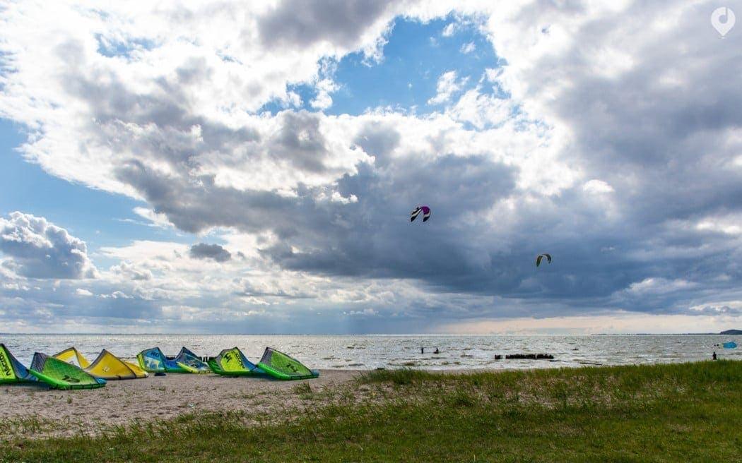 Kitesurfkurs auf Usedom
