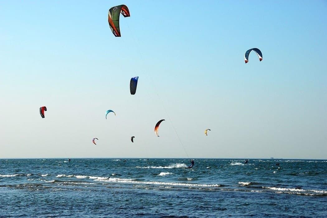 Zum Kitsurfen an die Ostsee