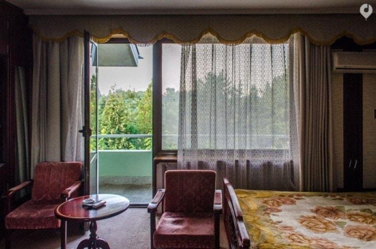 Mein Zimmer im Ryonggang Hot Springs Hotel