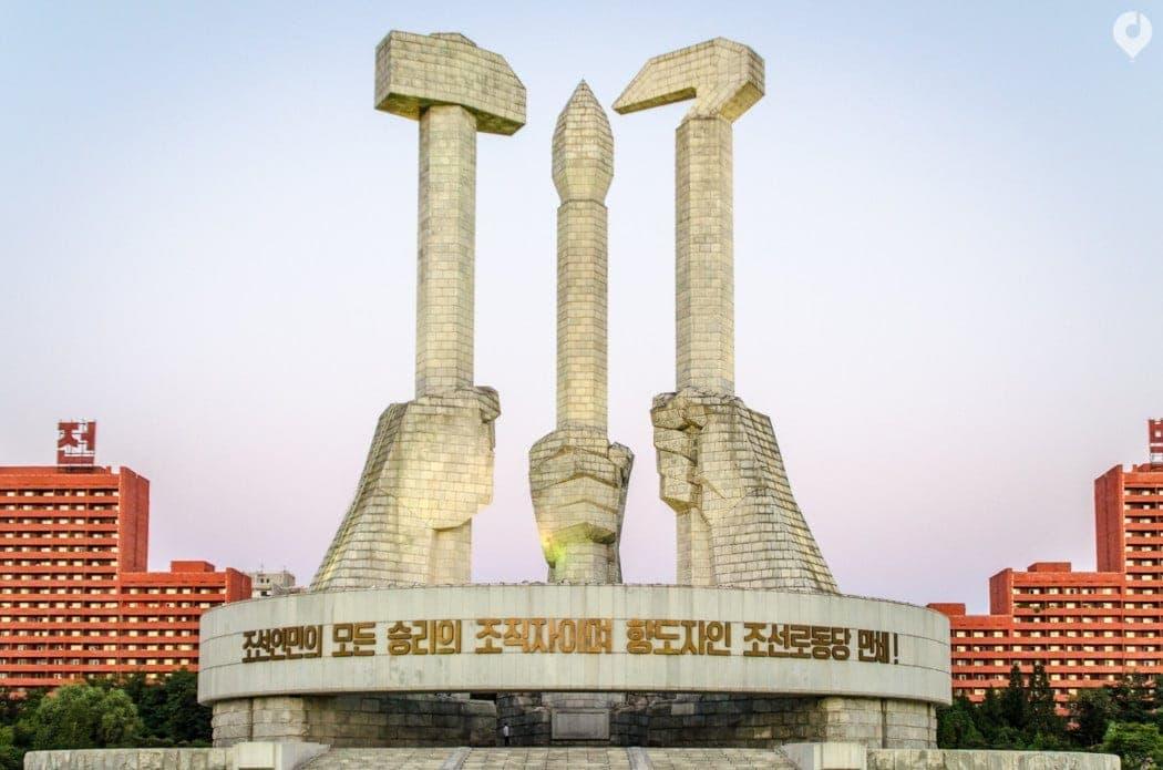In Pjöngjang, Nordkorea
