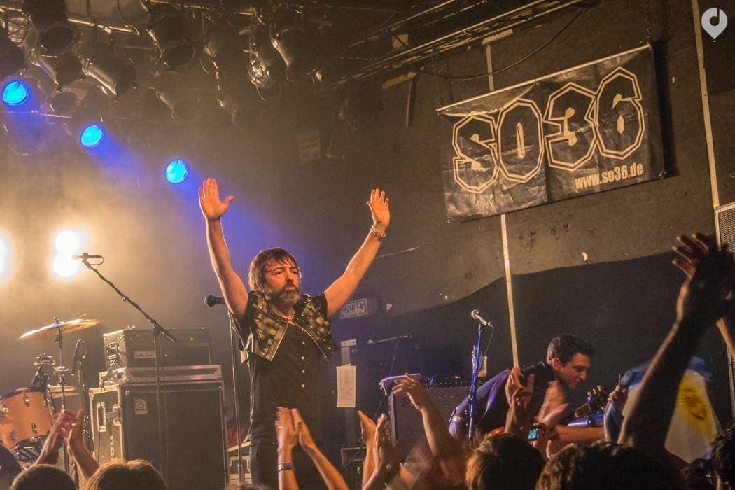 Rock Argentino - Babasónicos zum ersten Mal in Berlin!
