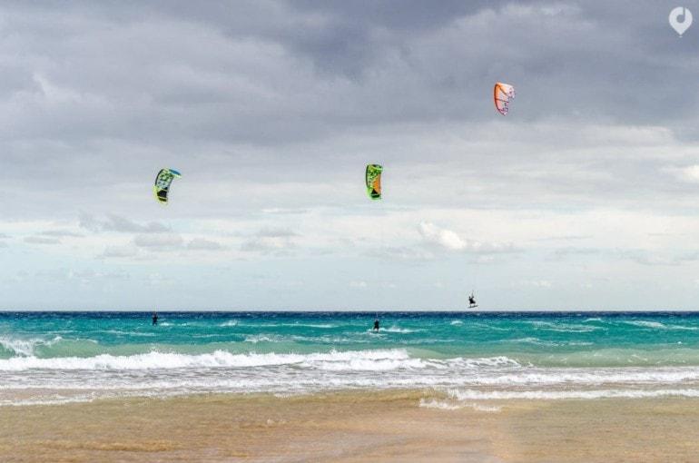 Fuerteventura Highlights: Kitesurfen in Fuerteventura
