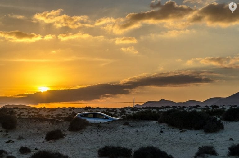 Fuerteventura Highlights: Sonnenuntergang in El Cotillo