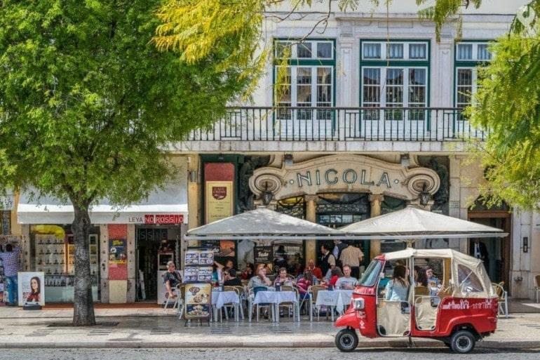 Lissabon - Tuk Tuks überall