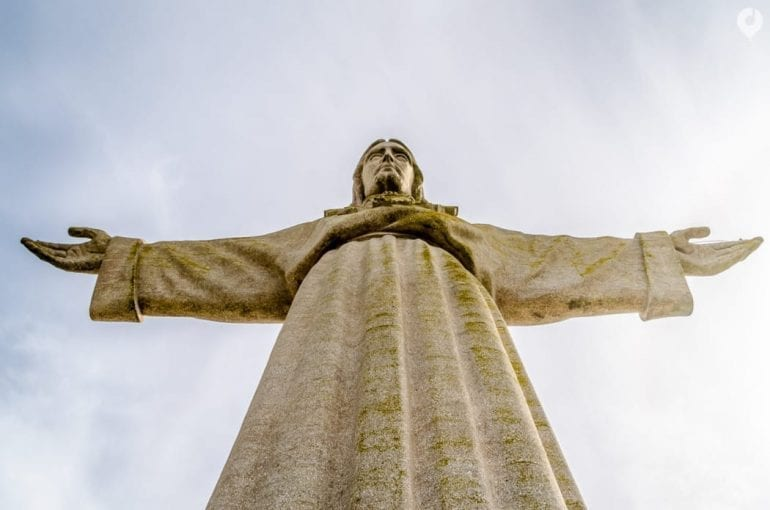 Lissabon - Christus-Statue Cristo Rei