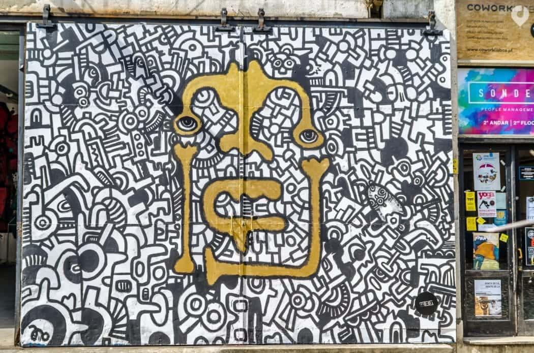 Street Art in Lissabon - eine Foto-Reise durch die Straßen der Stadt 16