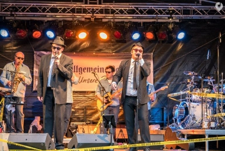 Blue Onions Blues Brothers Tribute Show bei Bingen swingt