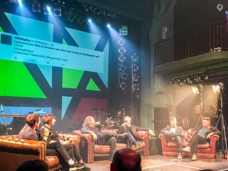 New Order beim Reeperbahn Festival 2015