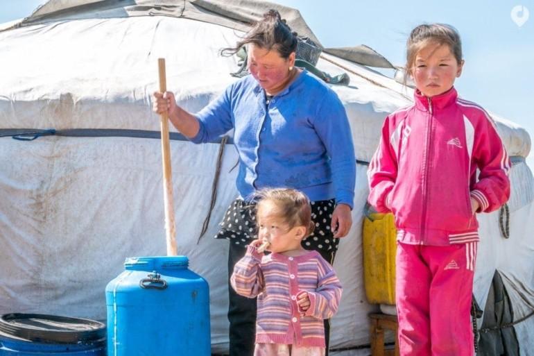 Mongolei: die Nomaden-Familie