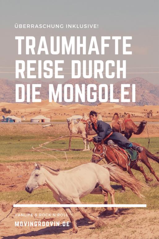 Mongolei: Eine traumhafte Reise inklusive Überraschung!