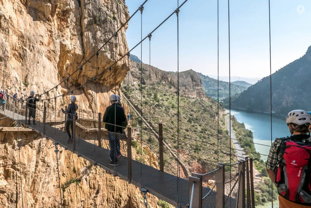Caminito del Rey in Andalusien, Spanien