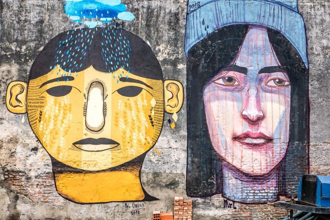 Street Art in Buenos Aires - Barracas