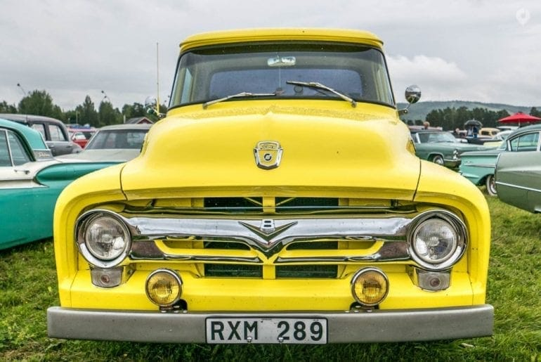 Classic Car Week in Rättvik, Schweden