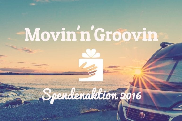 Movin'n'Groovin Spendenaktion 2016 - let's do it!