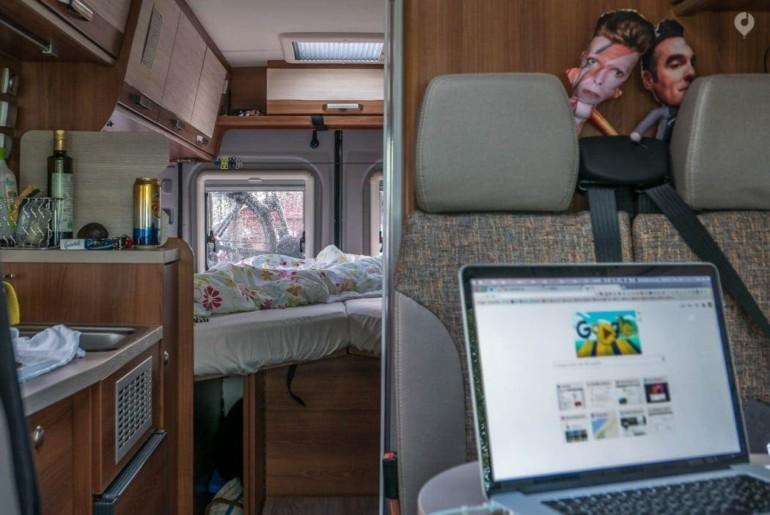 Aus dem Leben einer VANLIFE Nomadin