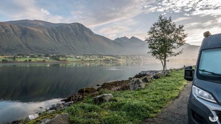 Am Romsdalfjord, Norwegen
