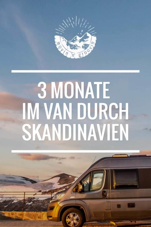 3 Monate im Van durch Skandinavien - Rentiere, Nordlichter & Luftgitarren