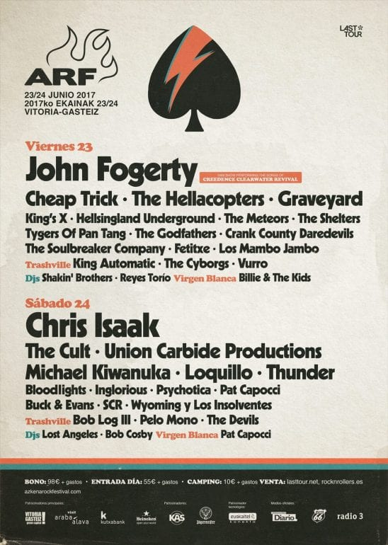 Musik-Festivals in Spanien: Azkena Rock Festival ARF