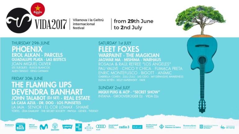 Musik-Festivals in Spanien: Vida Festival