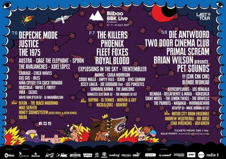Musik-Festivals in Spanien: Bilbao BBK Live