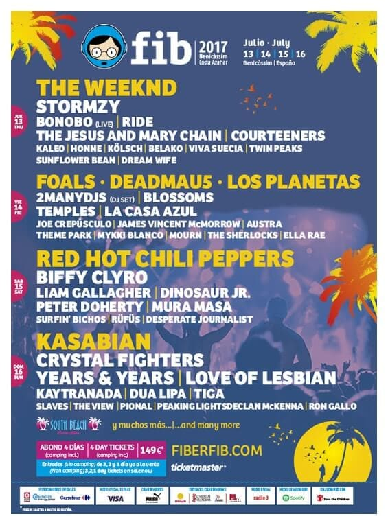 Musik-Festivals in Spanien: FIB Benicàssim Festival