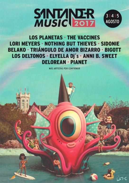 Musik-Festivals in Spanien: Santander Music Festival