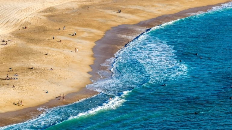 Nazaré in Portugal