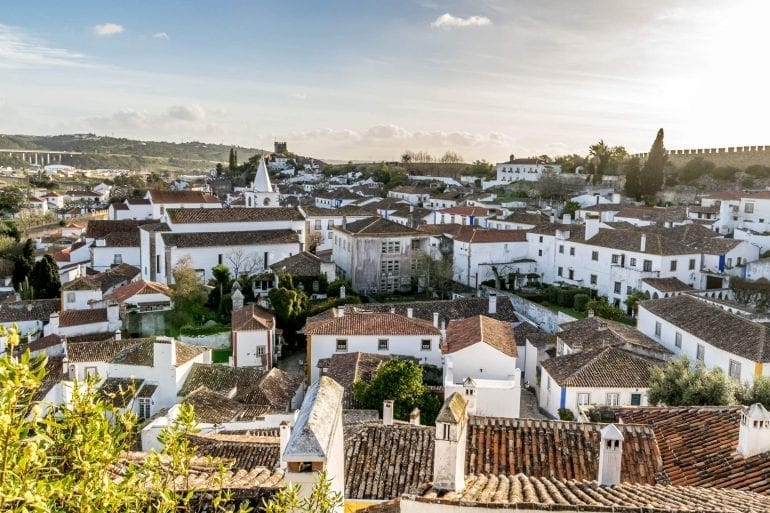 Óbidos in Portugal