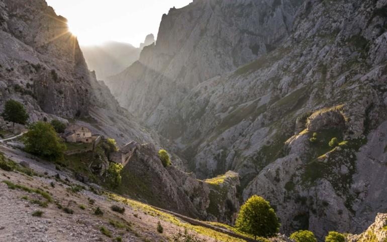 Ruta del Cares - Picos de Europa in Spanien