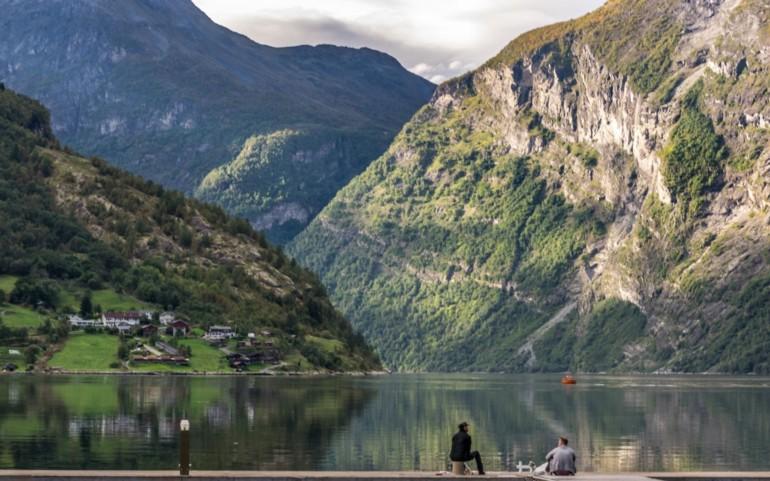 Vanlife in Norwegen: Geirangerfjord