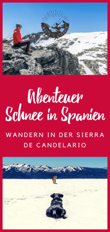 Abenteuer Schnee in Spanien - unterwegs in der Sierra de Candelario