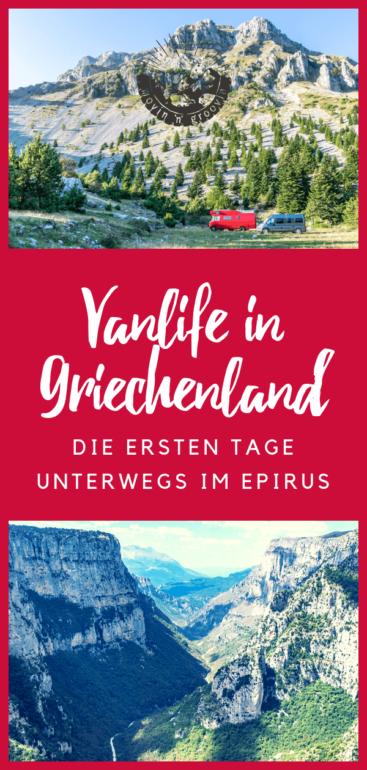 Griechenland: erste Eindrücke & Erlebnisse vom Epirus