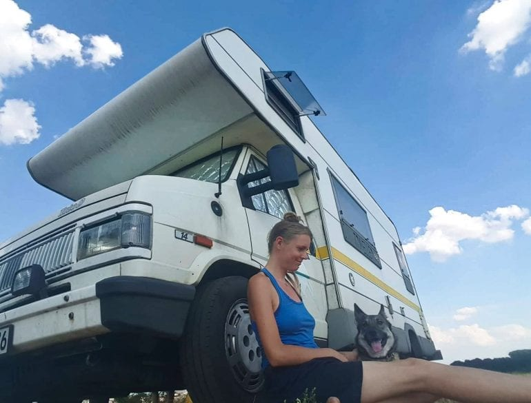 Alleinreisende Frauen im Campervan: Interview #6 mit Jane