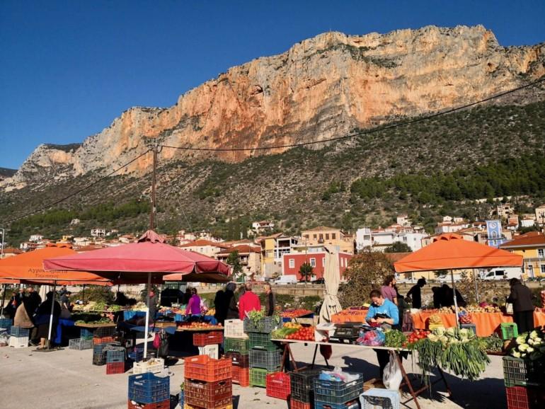 Wochenmarkt in Griechenland