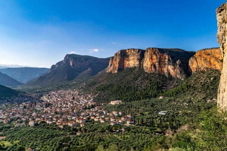 Leonidio in Griechenland