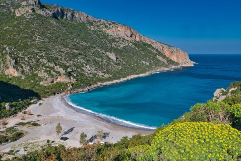 Roadtrip Highlights vom Peloponnes - Vlychada Beach