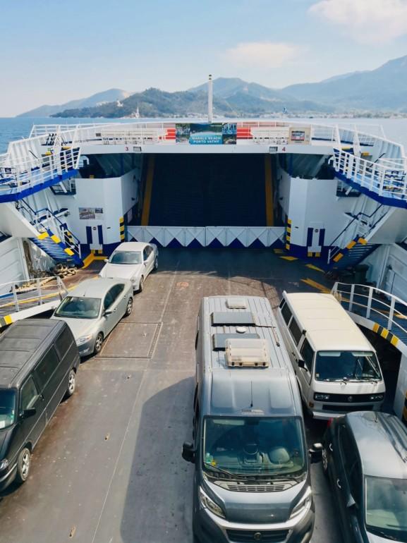 Mit der Fähre nach Griechenland