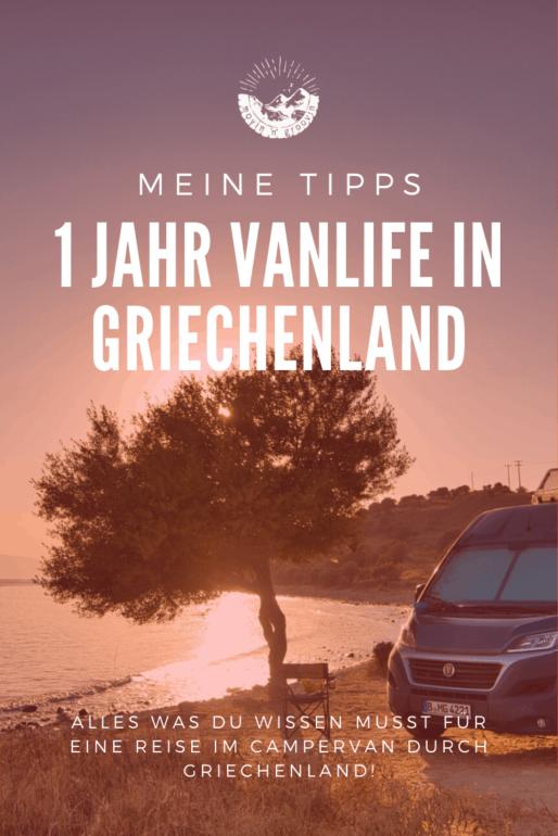 Ein Jahr Vanlife in Griechenland – meine Erfahrungen & Tipps