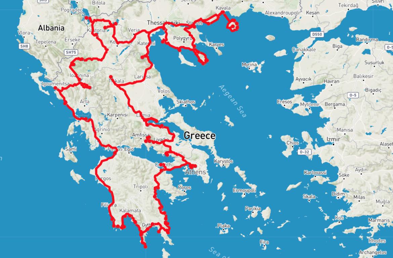 Griechenland Roadtrip