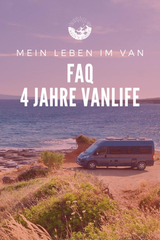 4 Jahre Vanlife - FAQ