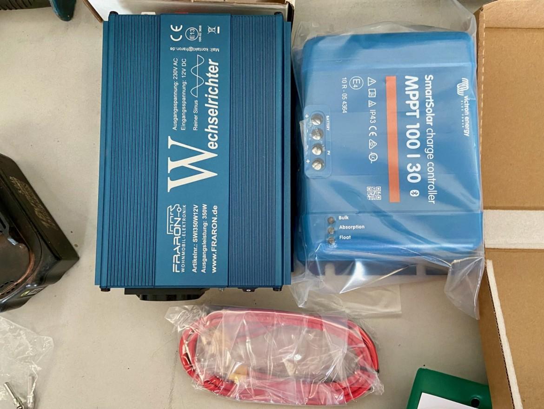 Das dicke Strom-Update für den Van: 420Wp Solar & 200Ah LiFePo4!
