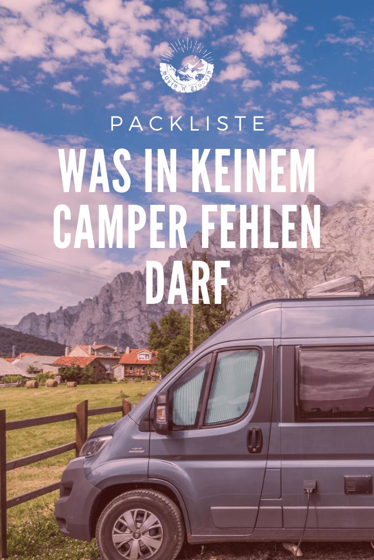 Packliste: Was in keinem Camper fehlen darf