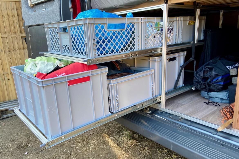 Schwerlast-Auszug Kastenwagen